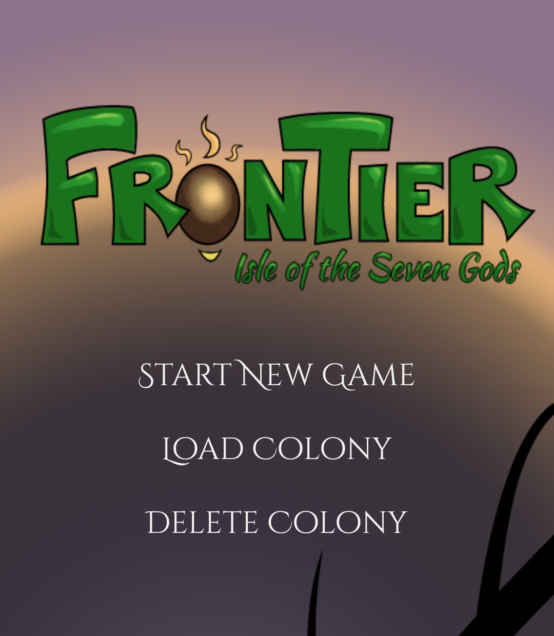 Frontier Title Screen